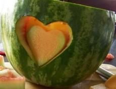 Čínský vyřezávaný meloun