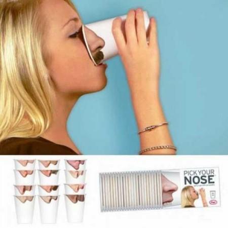 Kelímky s nosy