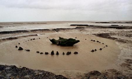 Seahenge v Norfolku
