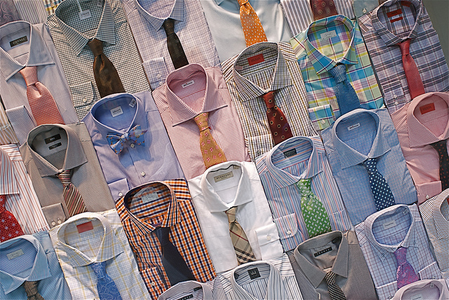 Poskládané košile