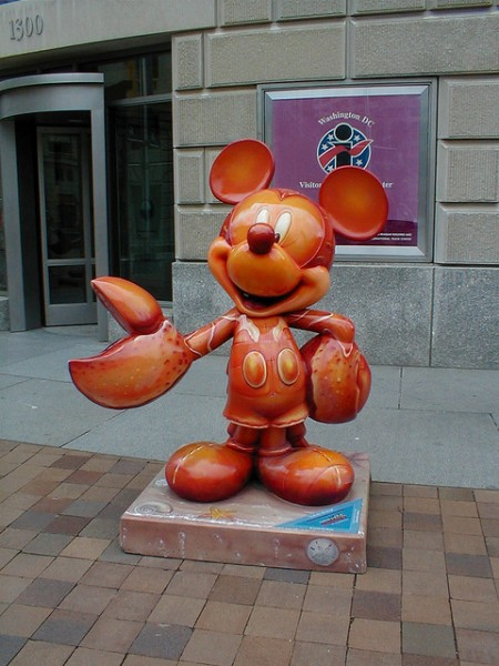 Lobster Mickey