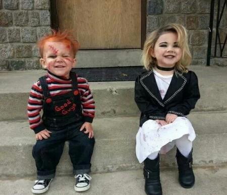 Chucky a Tiffany z Dětské hry