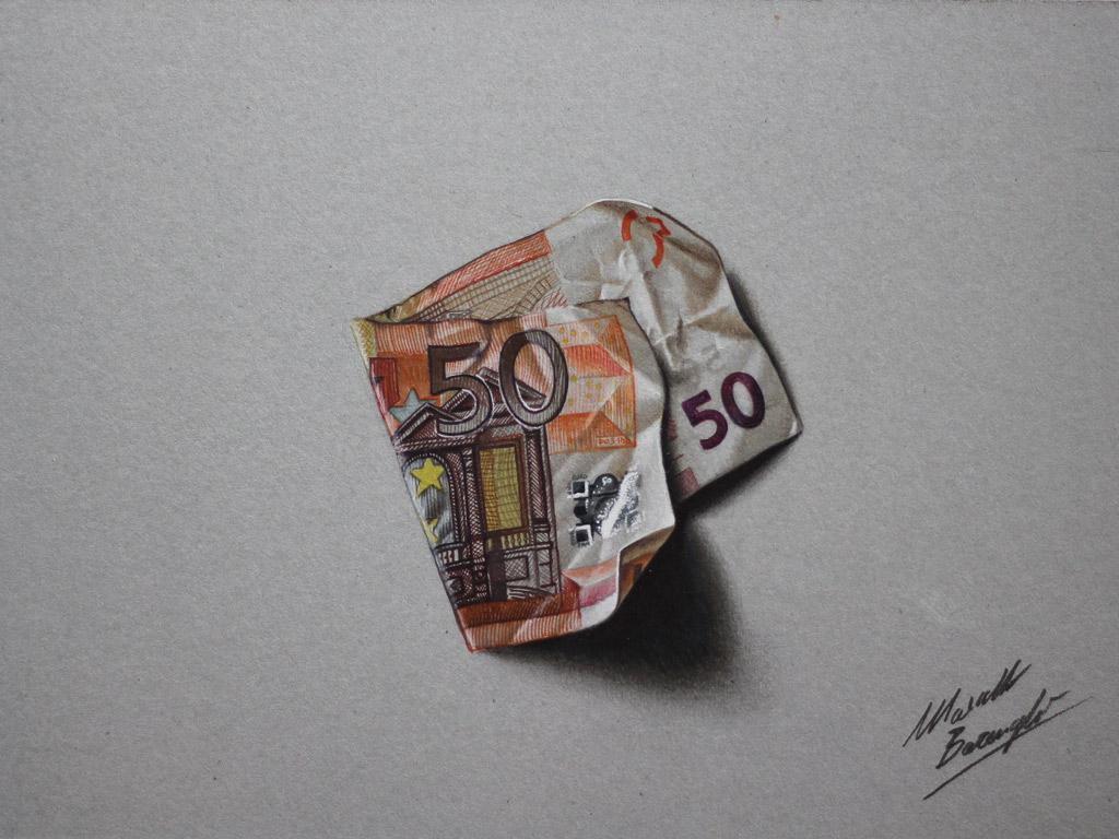Namalovaná bankovka