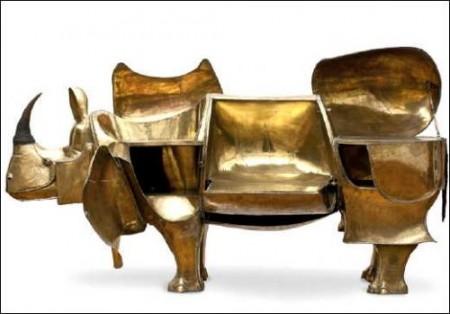 Nábytek designovaný podle zvířat
