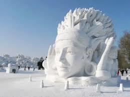 Sněhová socha