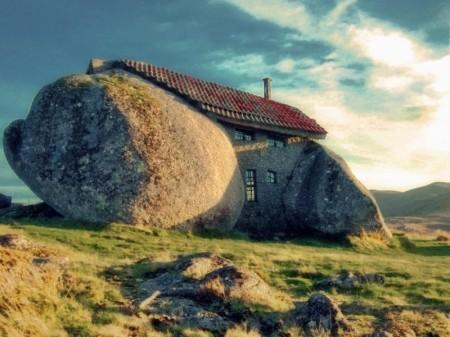 Dům kámen