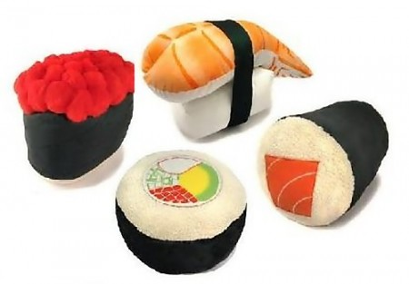 Polštáře sushi