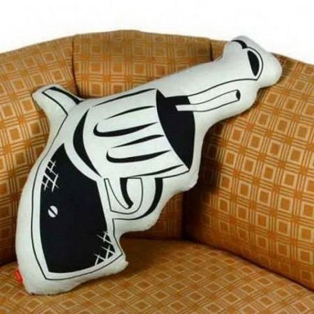 Polštář pistole