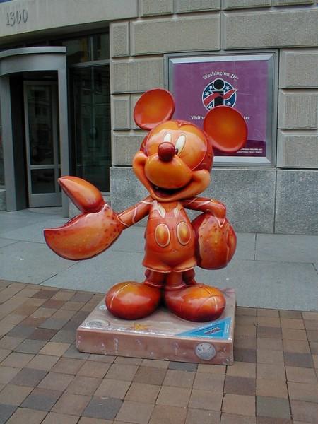 Lobster Mickey