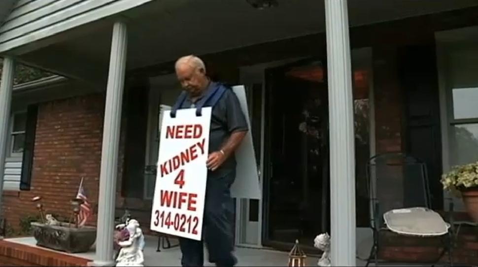 Larry Swilling shání ledvinu pro manželku