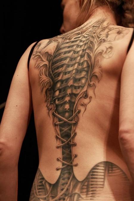 Tetování - kyborg