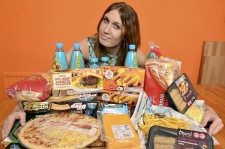 Faye a nezdravé jídlo